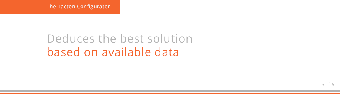 Deduces the best solution based on available data